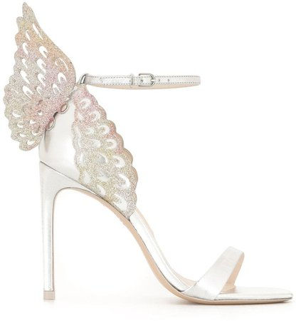 Chiara embroidered heeled sandals