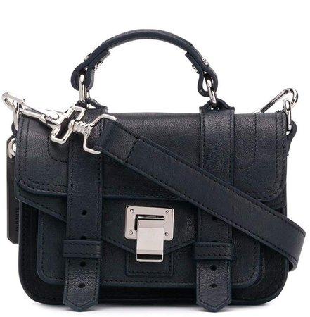 strappy mini cross-body bag