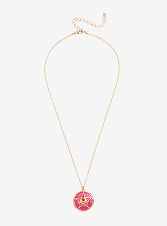 Sailor Moon Glitter Compact Necklace