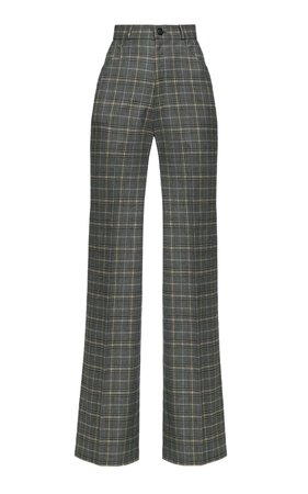 Hustler Cotton-Blend Wide-Leg Pants by Lena Hoschek | Moda Operandi