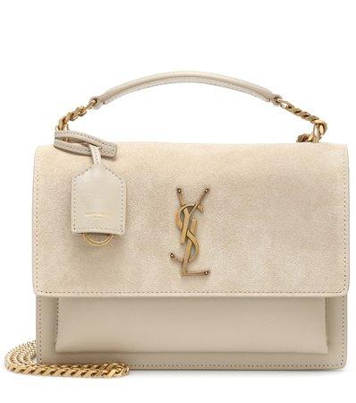Sunset Monogram Medium Leather Shoulder Bag   Saint Laurent - Mytheresa