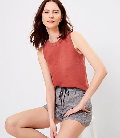 Relaxed Scoop Neck Tank