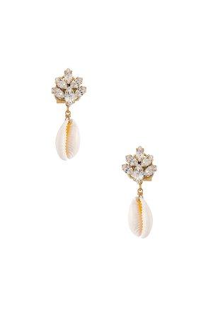 Cluster Shell Earrings