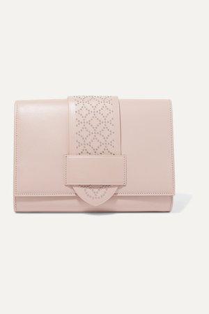 Alaïa | Studded leather clutch | NET-A-PORTER.COM