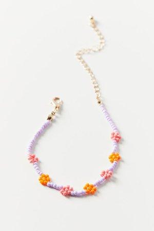 Bracelet perlé Blossom | Urban Outfitters Canada