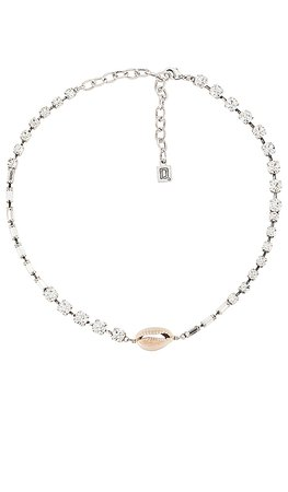 DANNIJO Amale Necklace in Silver | REVOLVE