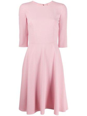 Dolce & Gabbana Flared Midi Dress Continuity   Farfetch.Com