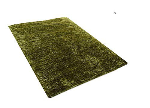 Amazon.com: Green Grass Feather Touch Handmade Carpet: Handmade