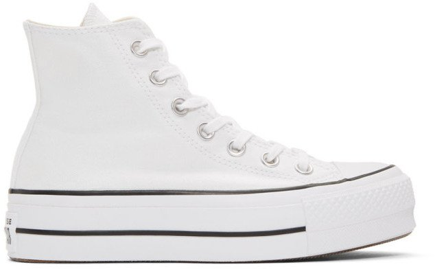 White Chuck Taylor All Star Lift High Sneakers