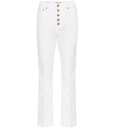 Tory Burch - High-rise slim jeans | Mytheresa