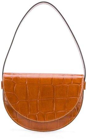 Amal crocodile-embossed bag