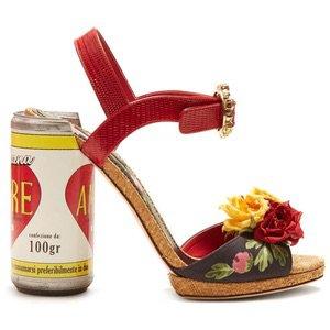 Amore floral-embellished sandals