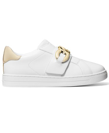 White Michael Kors Kenna Embellished Sneakers & Reviews - Athletic Shoes & Sneakers - Shoes - Macy's