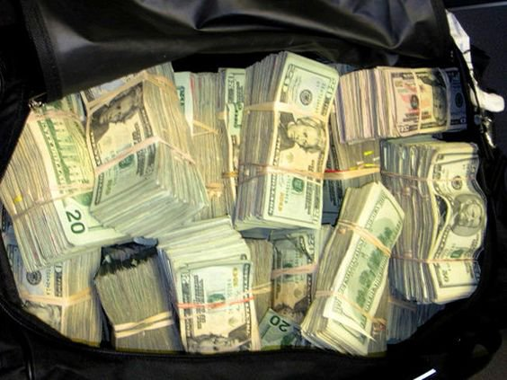 Duffel Bag Money