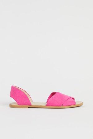 Sandals - Pink - Ladies   H&M US