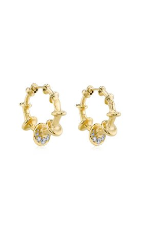 Chrona Mini Hoops by VRAM | Moda Operandi