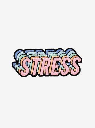 Stress Retro Repeat Patch