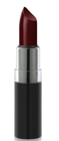 cherry dark red lipstick