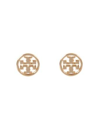 Tory Burch Circle-stud Logo Earrings