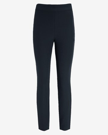 High Waisted Supersoft Twill Skinny Pant