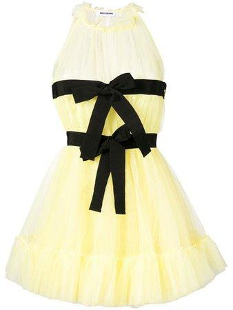 BROGNANO double bow dress