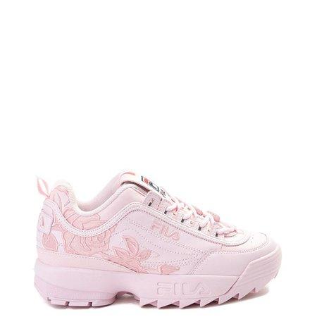 Womens Fila Disruptor 2 Rose Athletic Shoe | Journeys