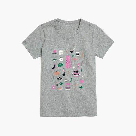 Fall fun graphic T-shirt