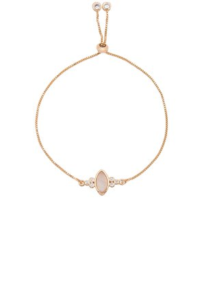 Gemstone Eye Slide Bracelet