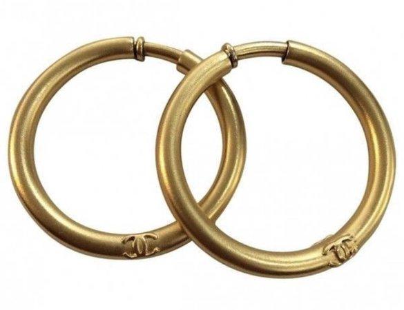 channel hoop earrings