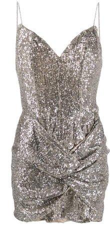 Deva sequinned mini dress