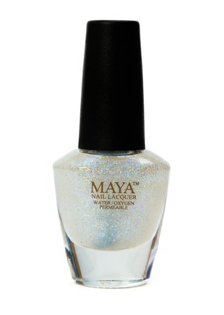 Halal Certified Nail Polish - Glitter Top Coat — the date palm