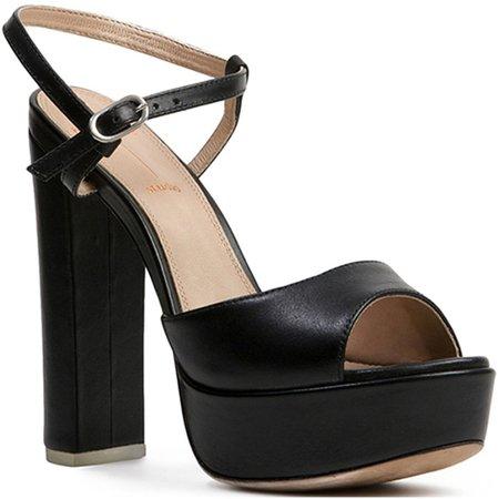 Alessia Block Heel Platform Sandal