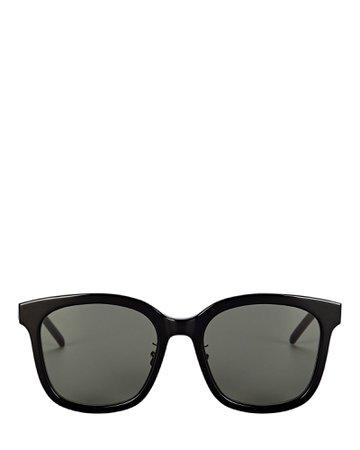 Saint Laurent Oversized Square Sunglasses | INTERMIX®