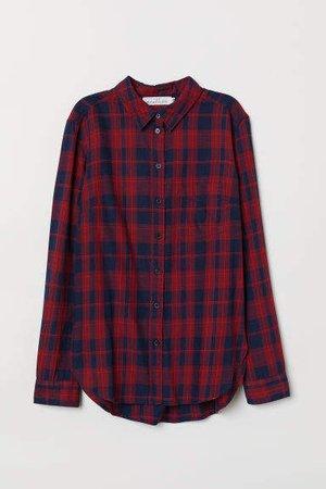 Plaid Shirt - Red