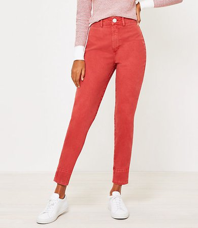 Curvy High Waist Wide Leg Jeans