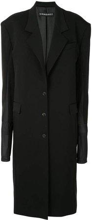 Oversized Structured Shoulder Coat