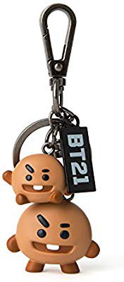Amazon.com: BT21 Official Merchandise by Line Friends - CHIMMY Keychain Ring: Office Products