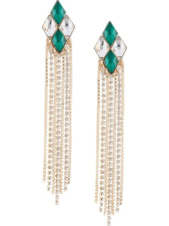 Anton Heunis crystal embellished earrings