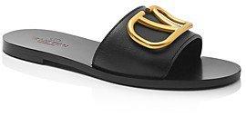 Women's V Logo Slide Sandals