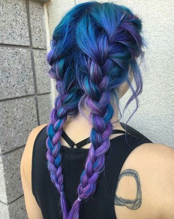 messy-french-braids.png (550×693)