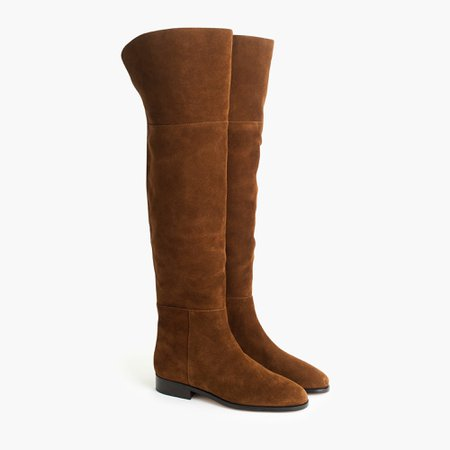 J.Crew: Over-the-knee Boots In Suede For Women