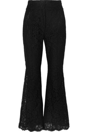 Dolce & Gabbana | Cropped guipure lace flared pants | NET-A-PORTER.COM