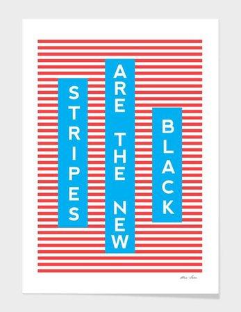 stripes are the new black Pinterest