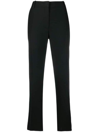 flare leg trousers