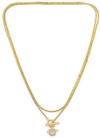 Veaux Wrap Necklace