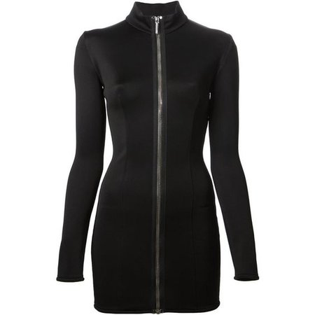 ANTHONY VACCARELLO zip dress