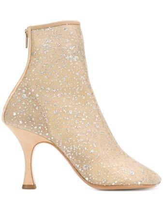 MM6 Maison Margiela toe-shaped Ankle Boots - Farfetch