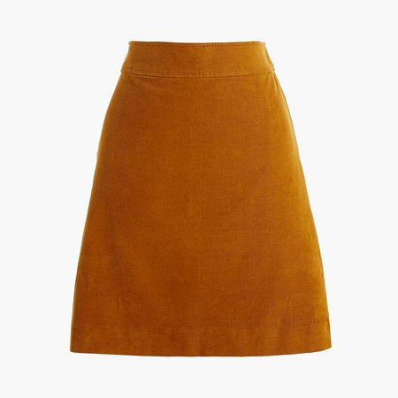 J.Crew Factory: Corduroy Mini Skirt For Women