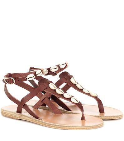 Estia embellished leather sandals