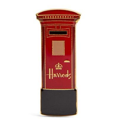 Harrods Post Box Metal Magnet | Harrods.com